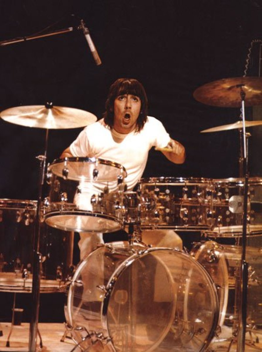 Keith Moon: The Craziest Rock and Roll Drummer Ever