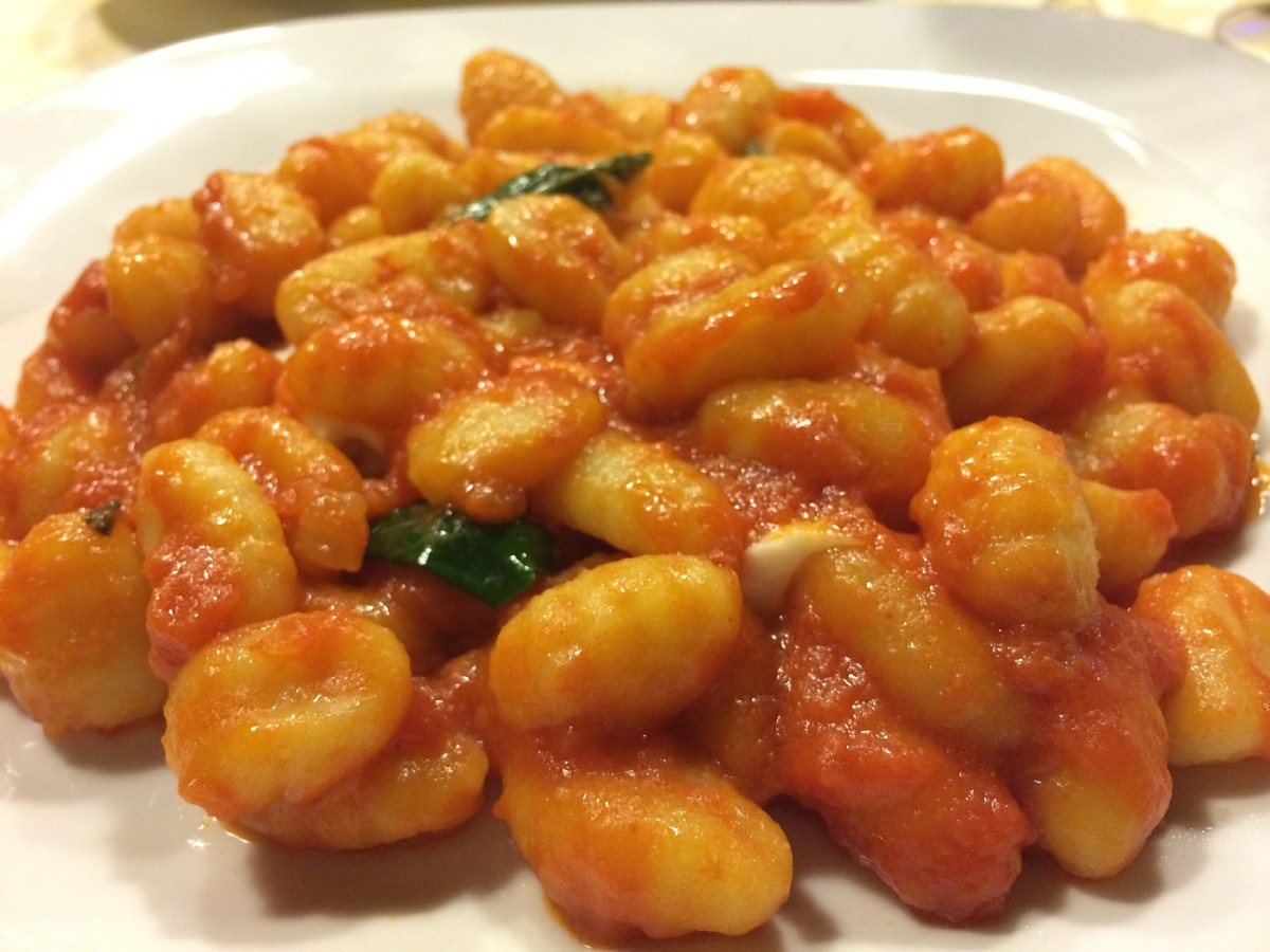 Authentic Italian (No Egg) Potato Gnocchi