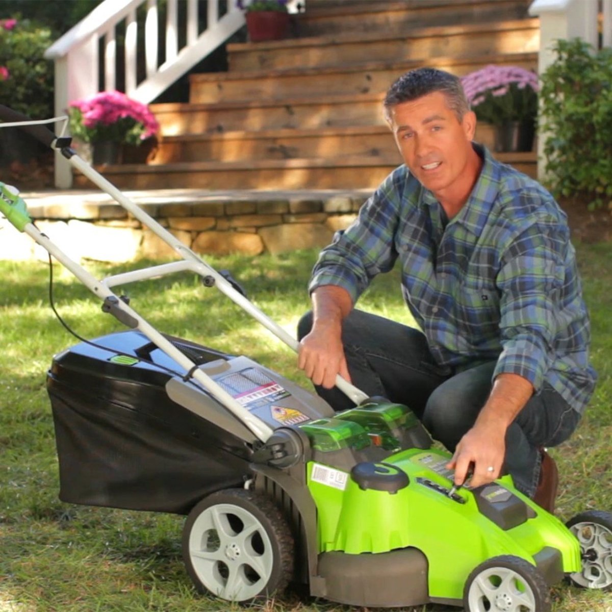 Greenworks 20 Quot Twin Force Cordless Mower Pros And Cons