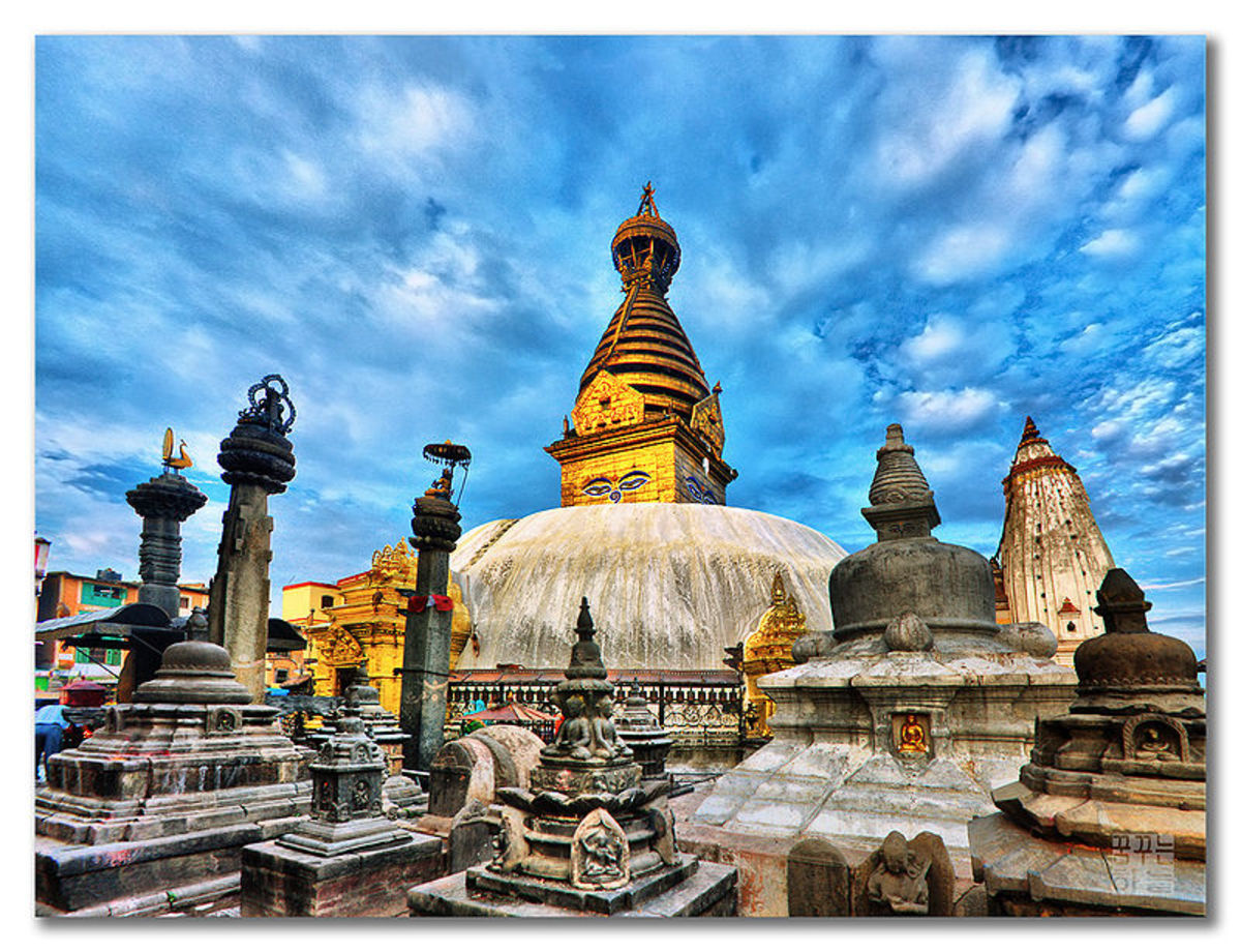 A temple in Nepal