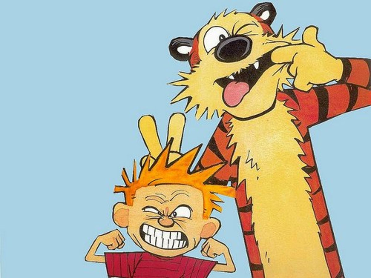 Hobbes is probably the most famous imaginary friend there is.