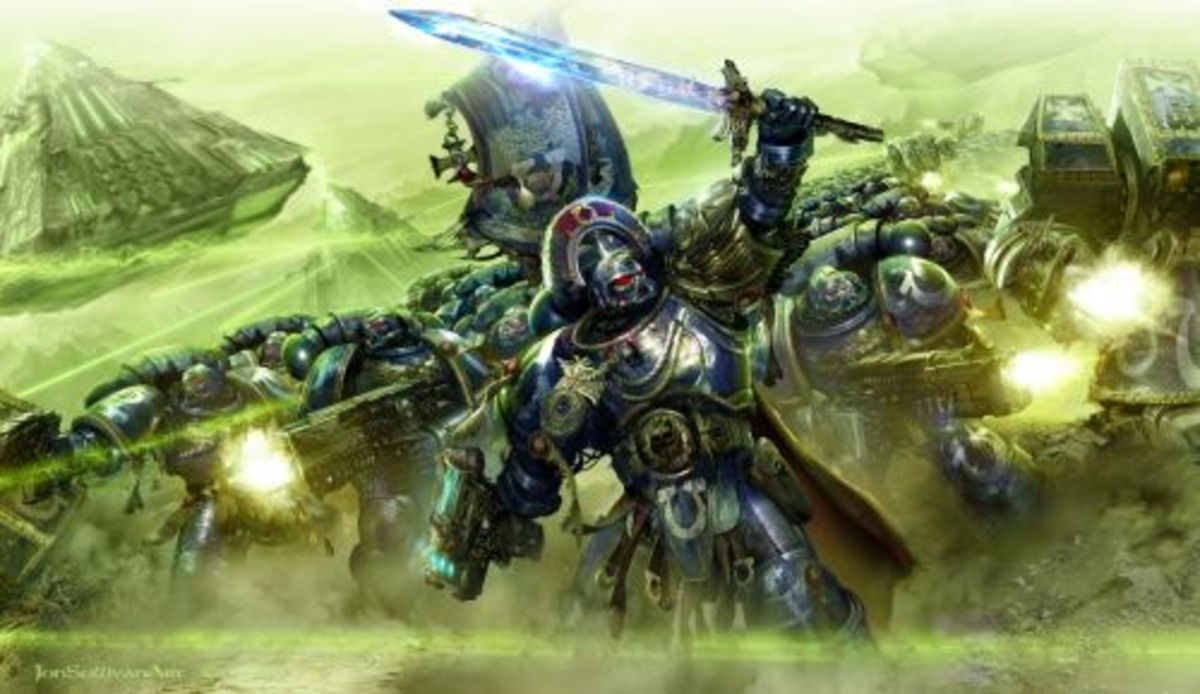 7th Edition 40k Battle-forged Armies