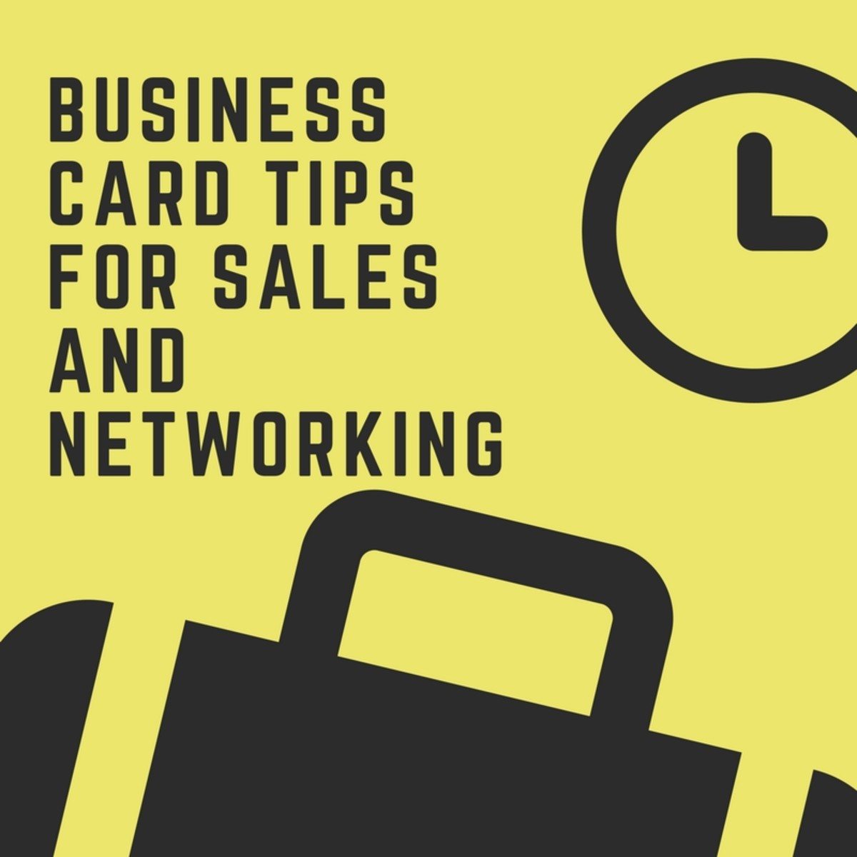 Business Card Tips for Sales and Networking