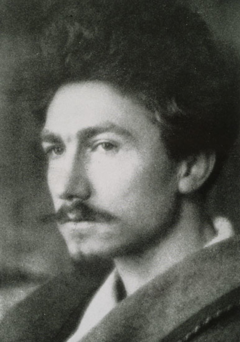 A young Ezra Pound in 1913 taken by Alvin Langdon.
