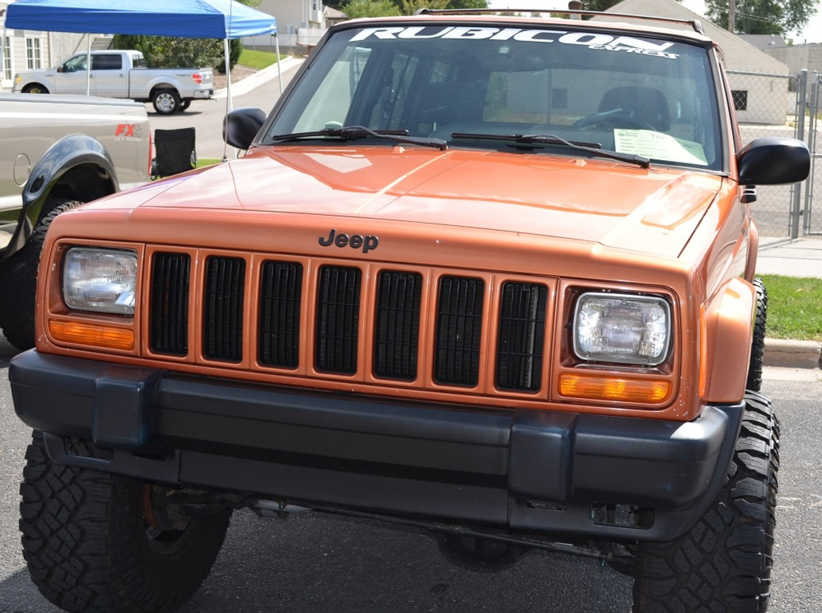 How to install a 2 Inch Complete Lift Kit on a Jeep Cherokee XJ 1984-2001