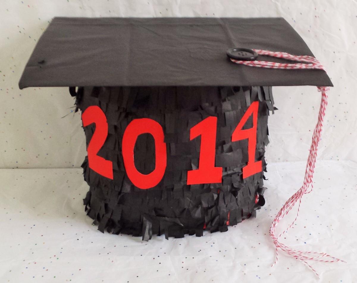 DIY Graduation Cap Piñata