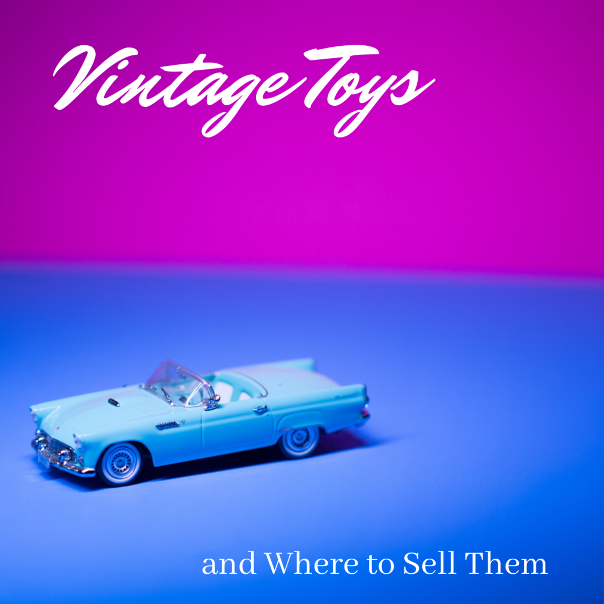 This guide will help you both determine the value of your vintage toys and hopefully find some places to sell them.