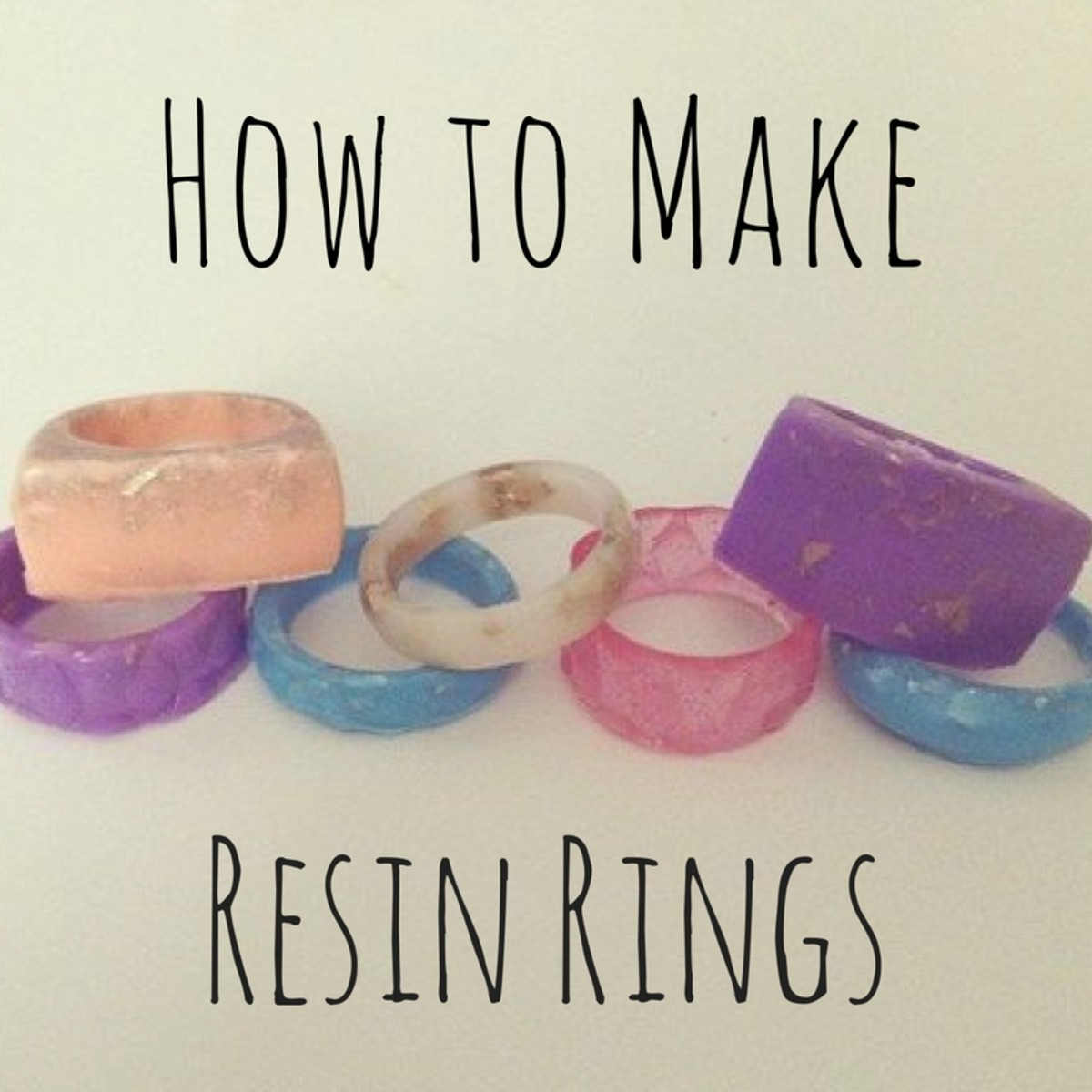 How To Create A Minimalist Bathroom: How To Make A Resin Ring
