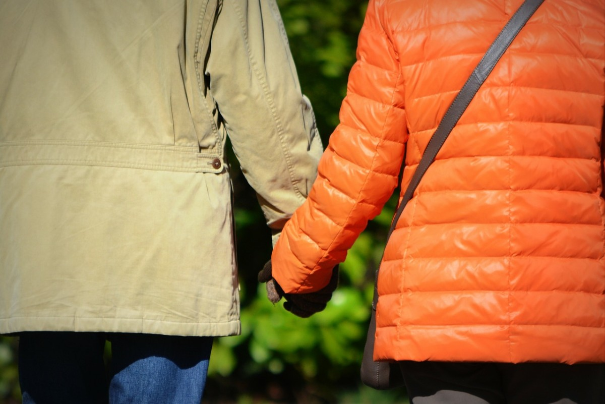 Need to have a serious conversation with your spouse? Talk it out, outside! The fresh air and exercise can help reduce tension and increase positive energy flows.
