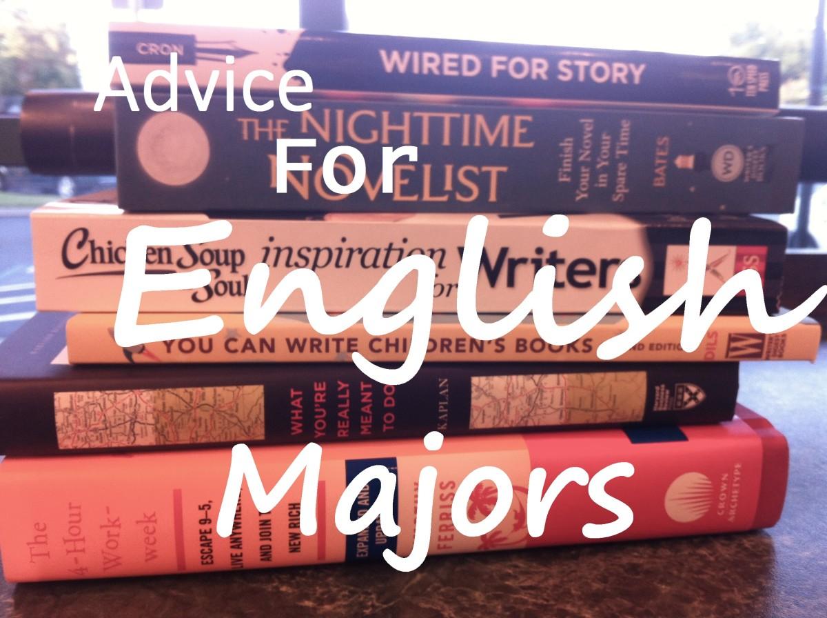 Advice for English Majors