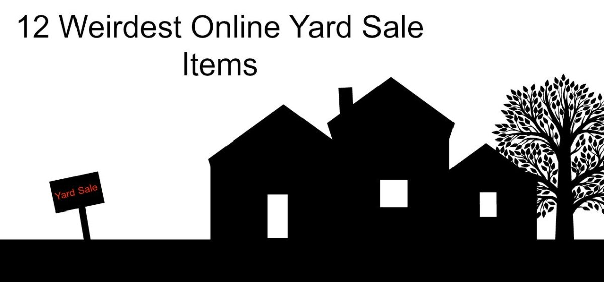 12 Weirdest Online Yard Sale Items You Can Buy | ToughNickel