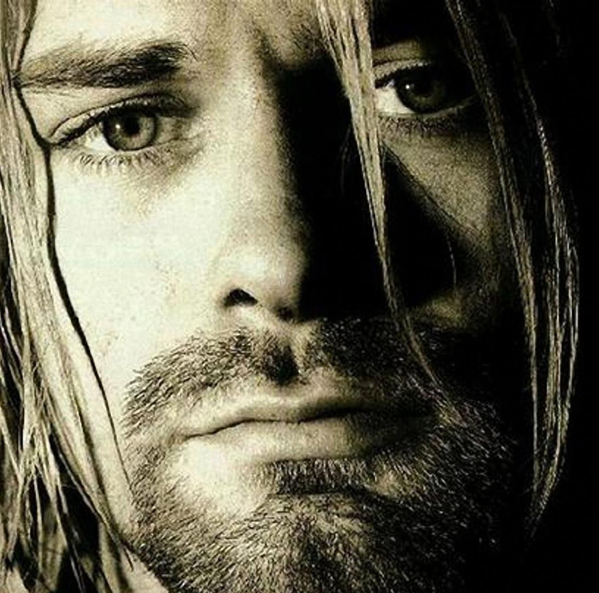 Kurt Cobain from Nirvana, the artist who defines '90s music for many.