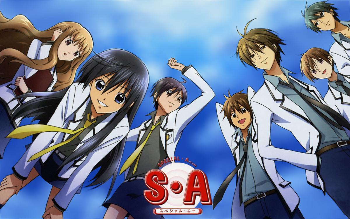 "7 Anime Like ""Special A"""