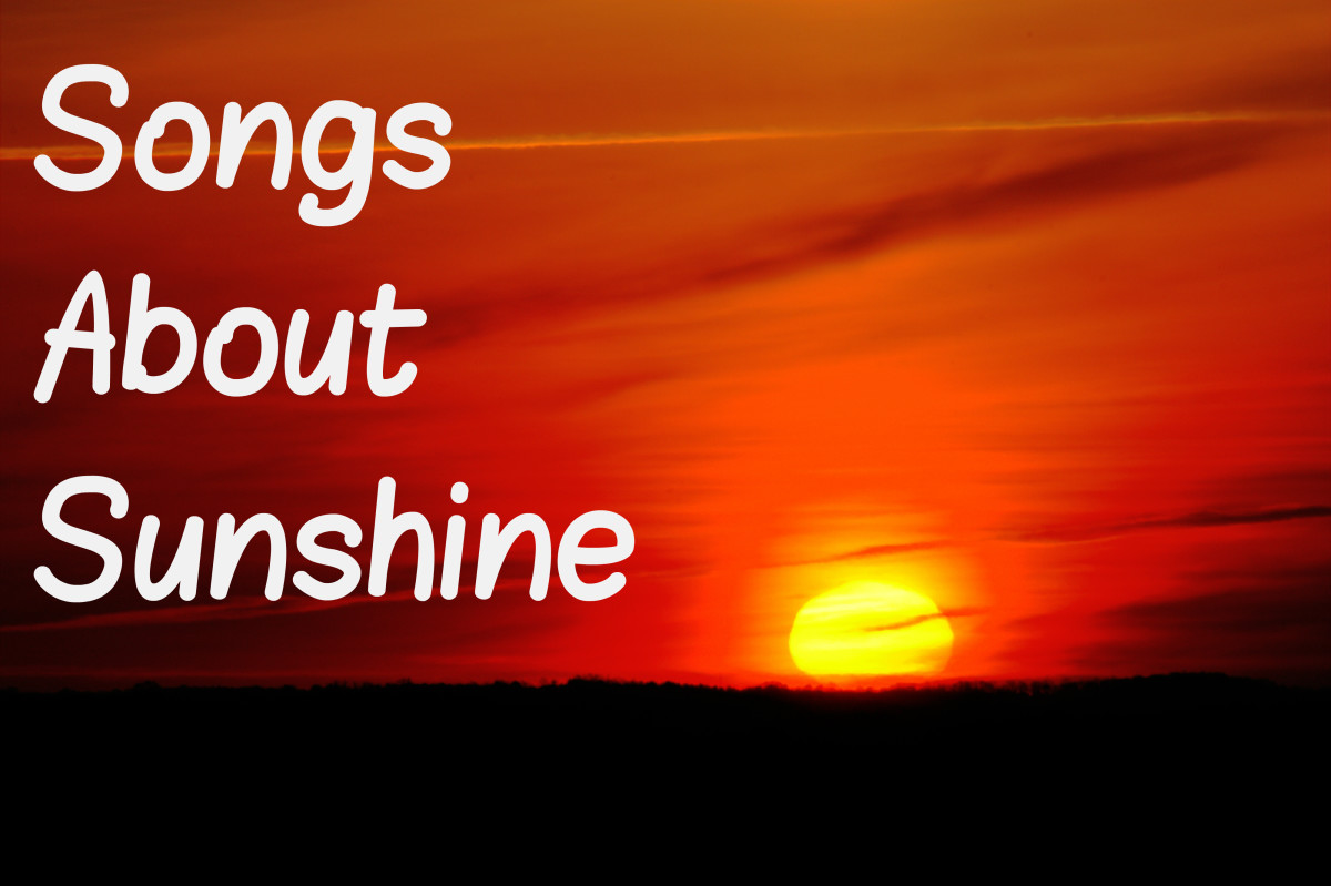 As vital as the sun is to life, there's no shortage of pop, rock, and country songs on the topic.  Celebrate sunny weather by making a playlist about the sun and sunshine.