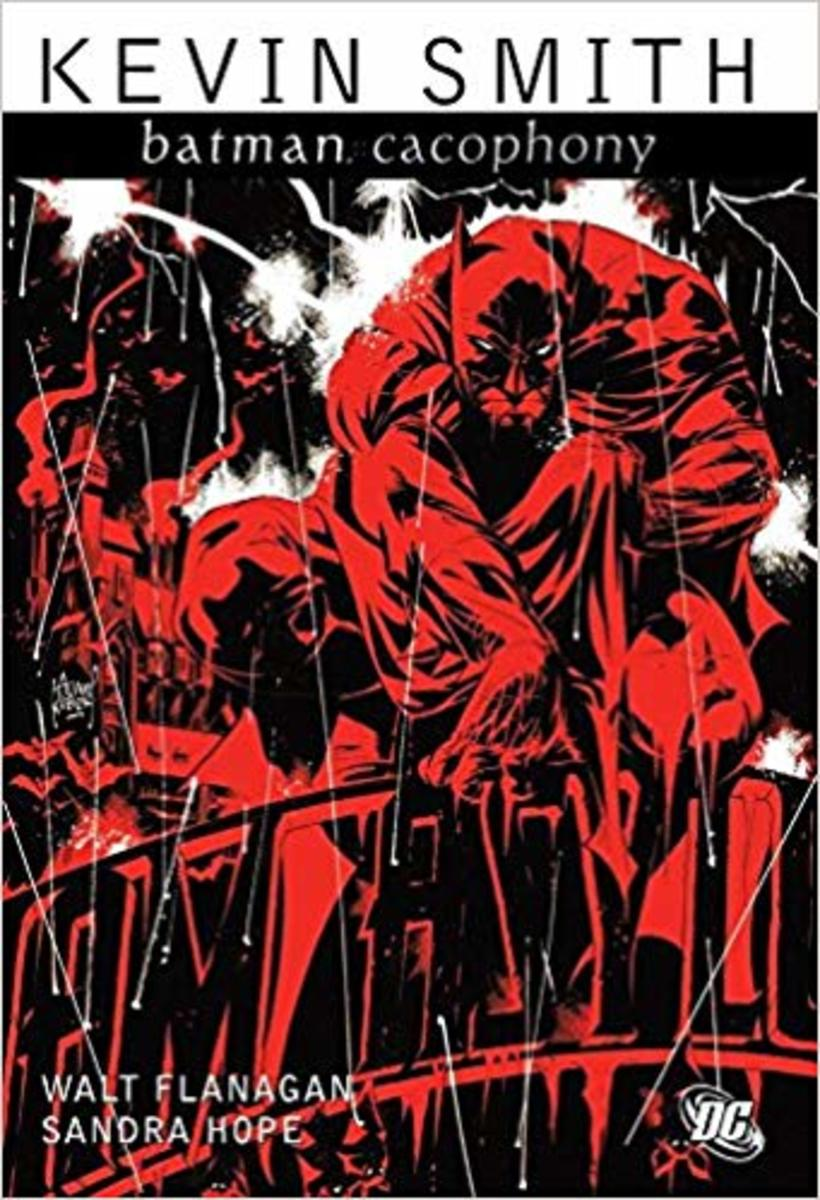 """Batman: Cacophony"" graphic novel cover."