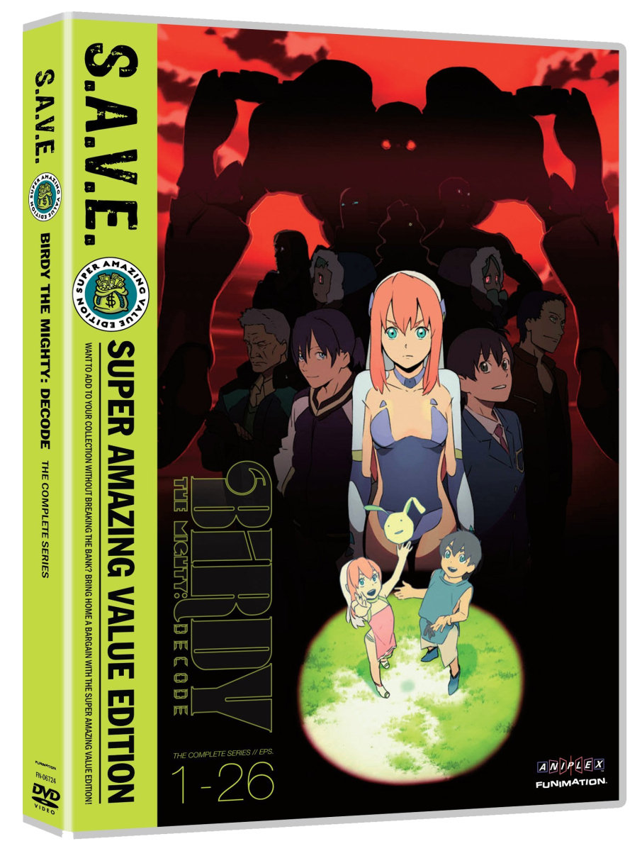 Anime Review: 'Birdy The Mighty: Decode' (2009)
