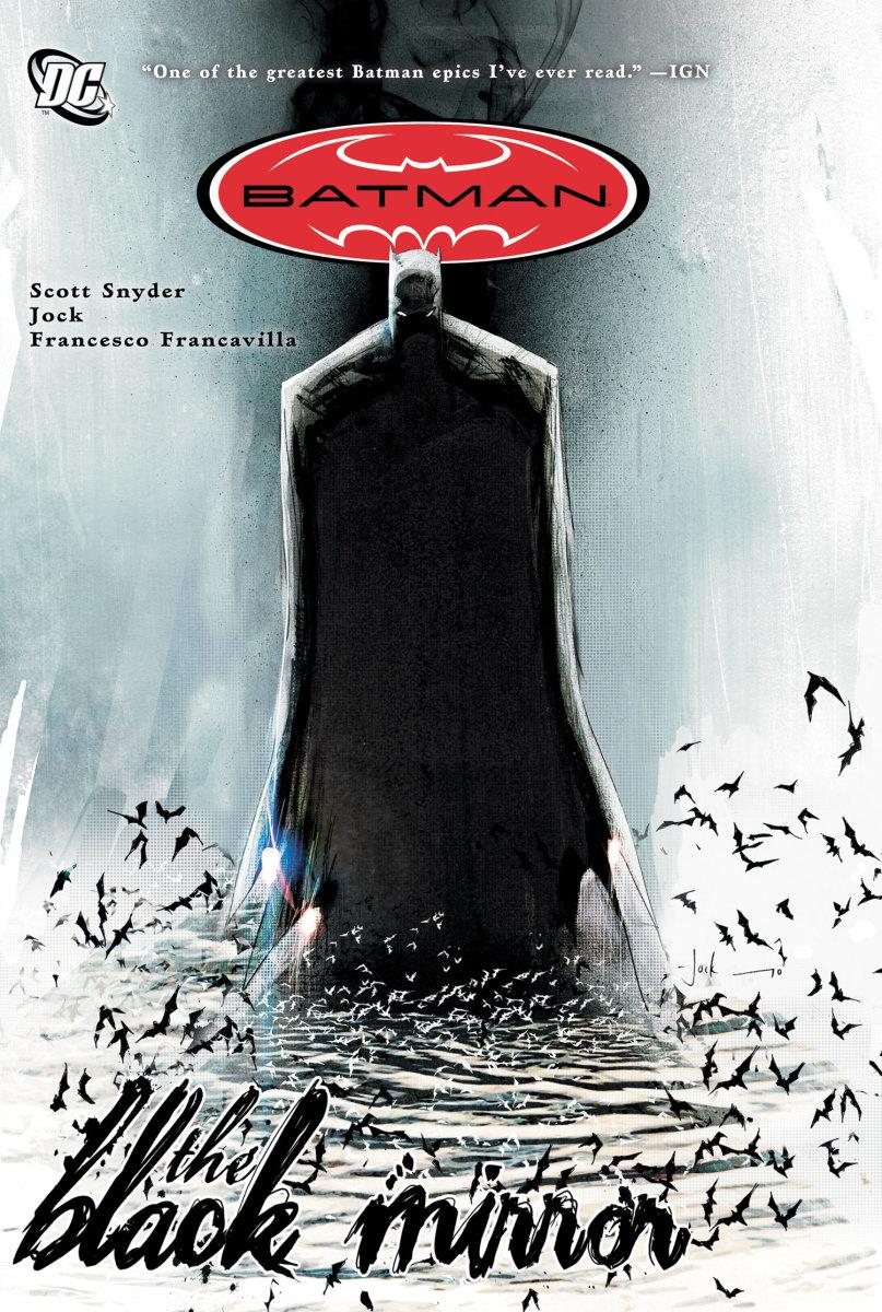 "The cover of ""Batman: The Black Mirror."""
