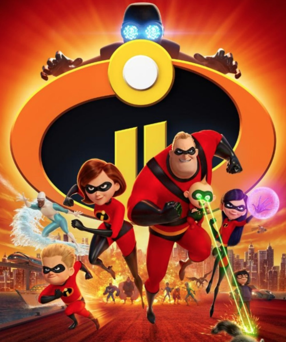 The Incredibles 2 poster.