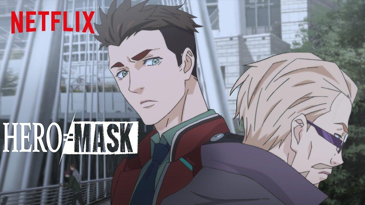 Hero Mask Netflix thumbnail.