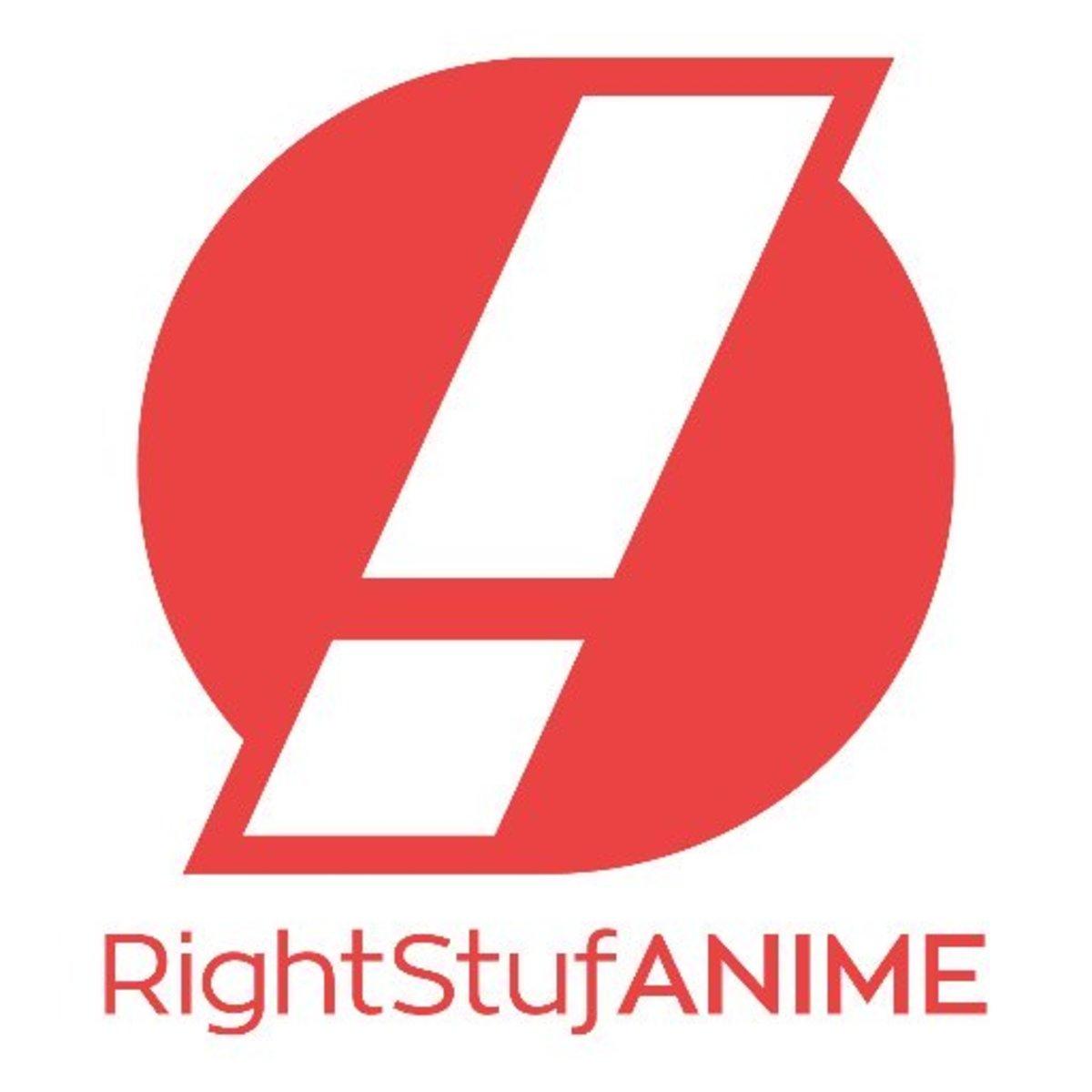 RightStufAnime's logo.