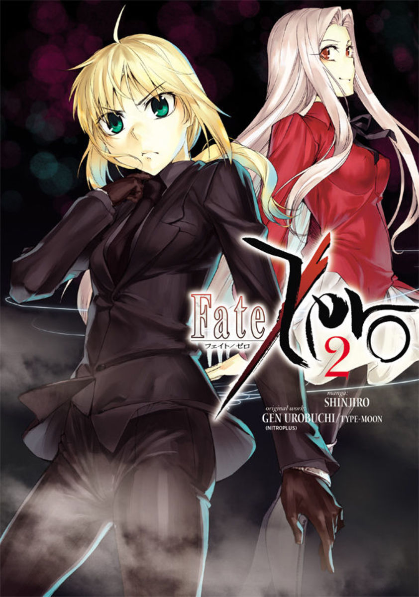 """Fate/Zero"" manga, Vol. 2 cover."