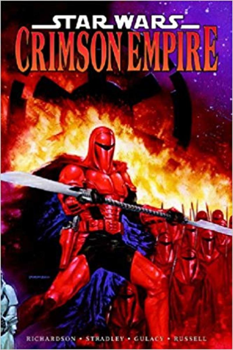 Graphic Novel Review of Star Wars: Crimson Empire by Mike Richardson
