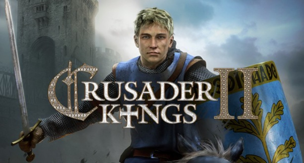 """Crusader Kings II"" Cover."