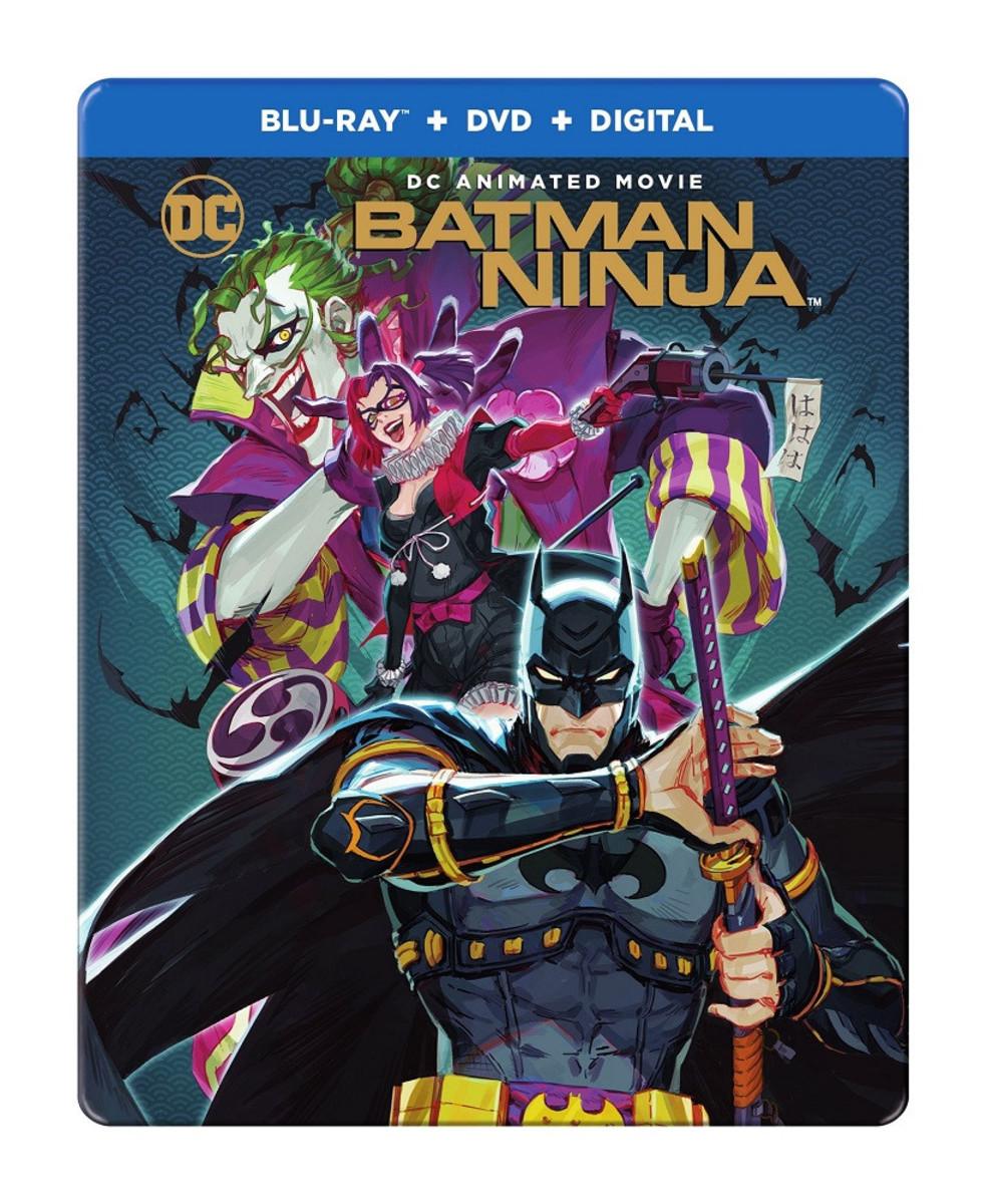 Anime Movie Review: 'Batman: Ninja' (2018)