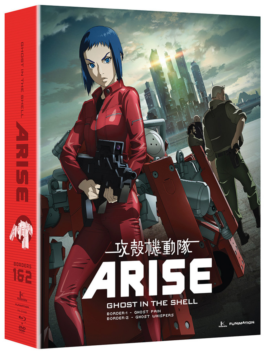 Anime Review: 'Ghost in the Shell: Arise' (2013) OVA