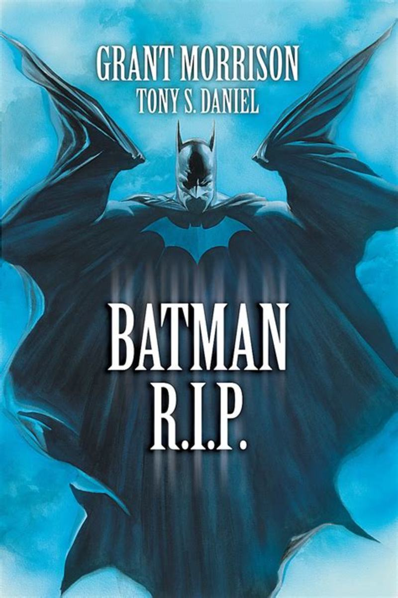 The cover of Batman: R.I.P.