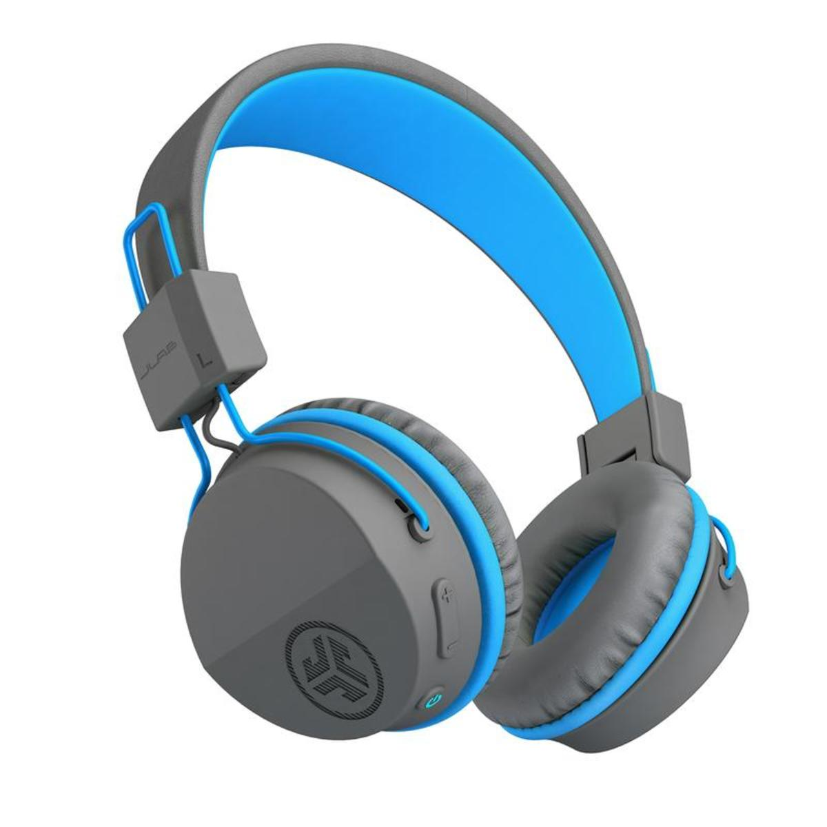 The Jlab Audio Jbuddies Studio Bluetooth Wireless Folding Headphones.
