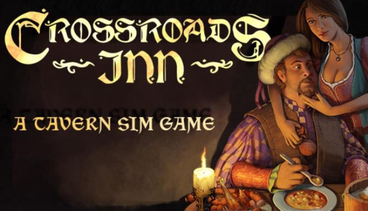 """Official art for """"Crossroads Inn."""""""