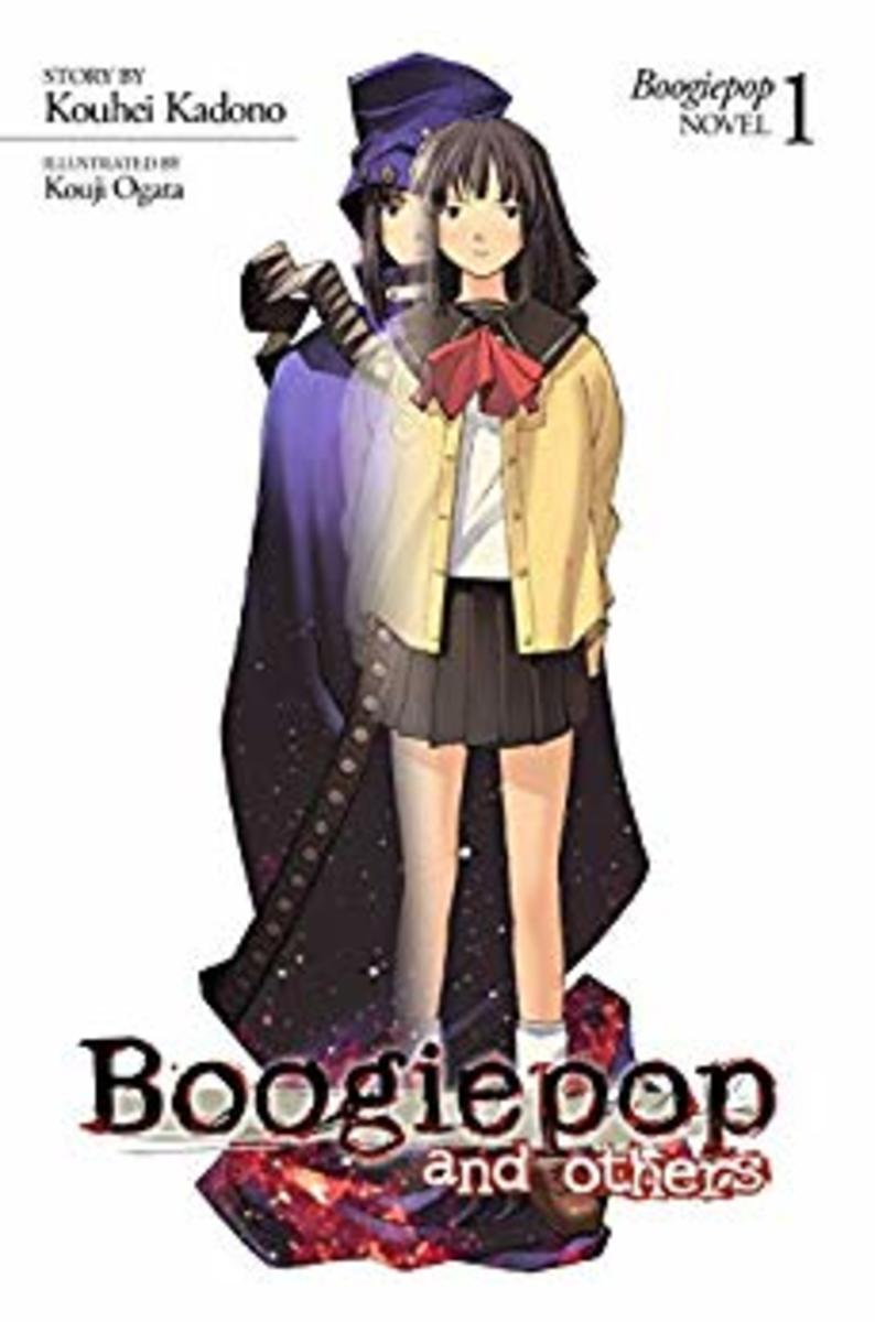 Boogiepop and Others light novel cover.