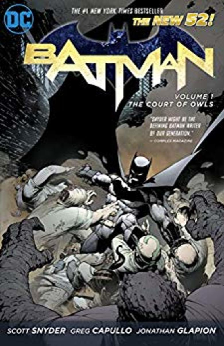 Batman: Volume 1: The Court of Owls cover.