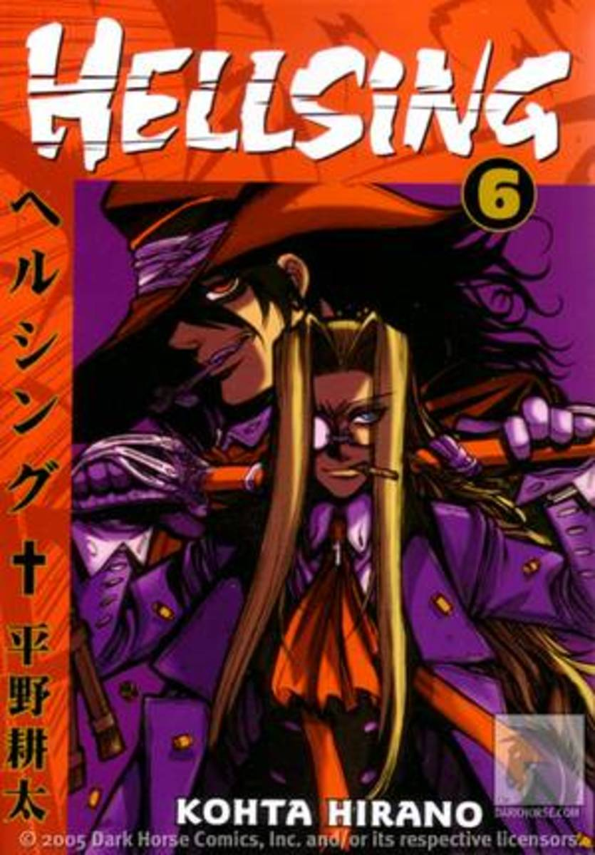 Manga Review: Hellsing Volume 6 by Kohta Hirano