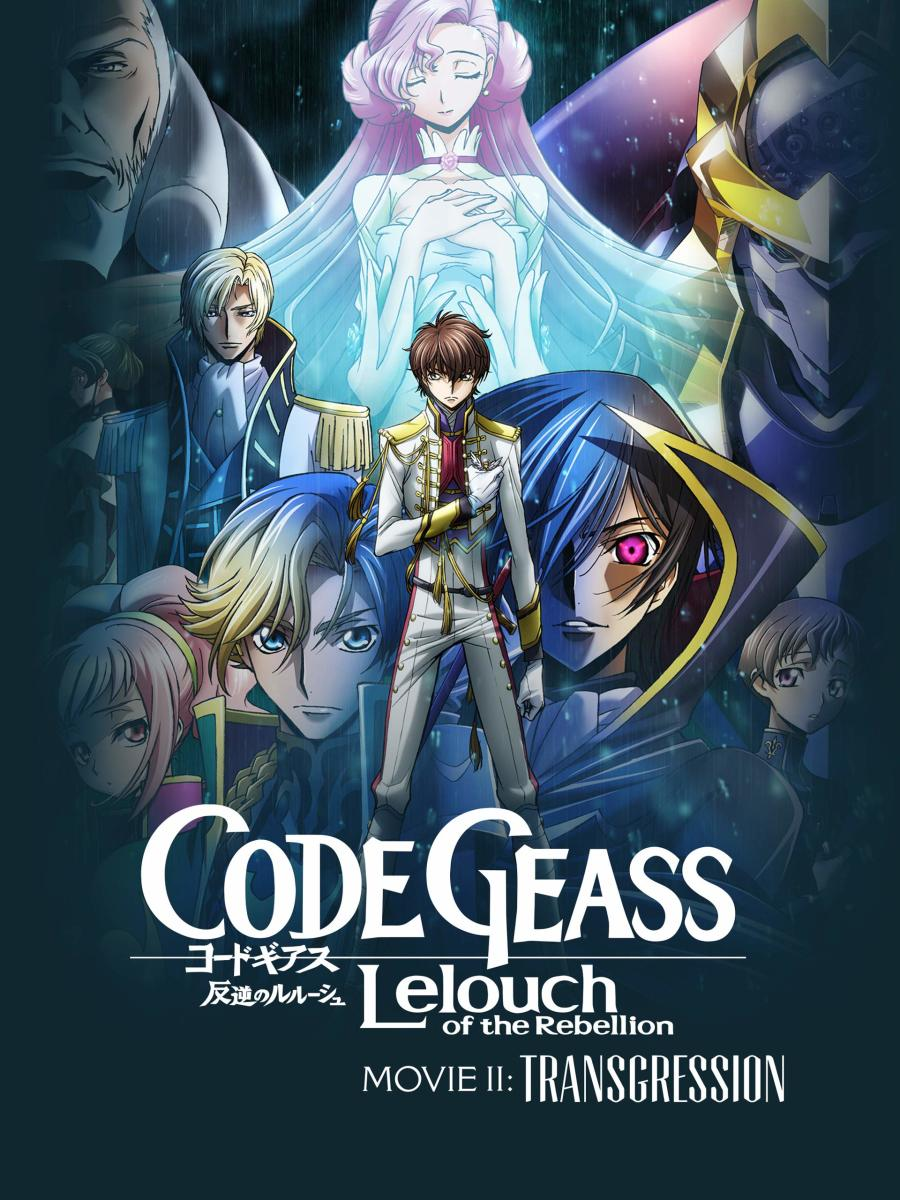 Official Code Geass: Lelouch of the Rebellion  Movie II: Transgression cover.
