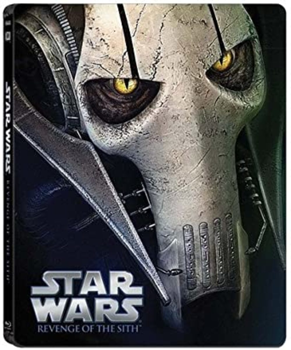 """Star Wars: Episode III: Revenge of the Sith"" steelbook Blu-ray cover."