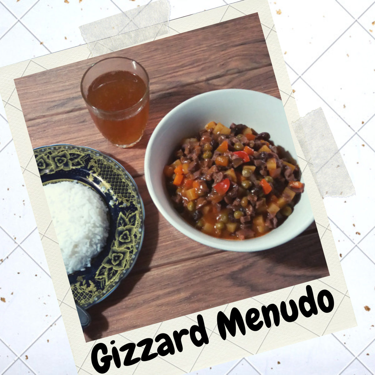 Easy gizzard menudo recipe
