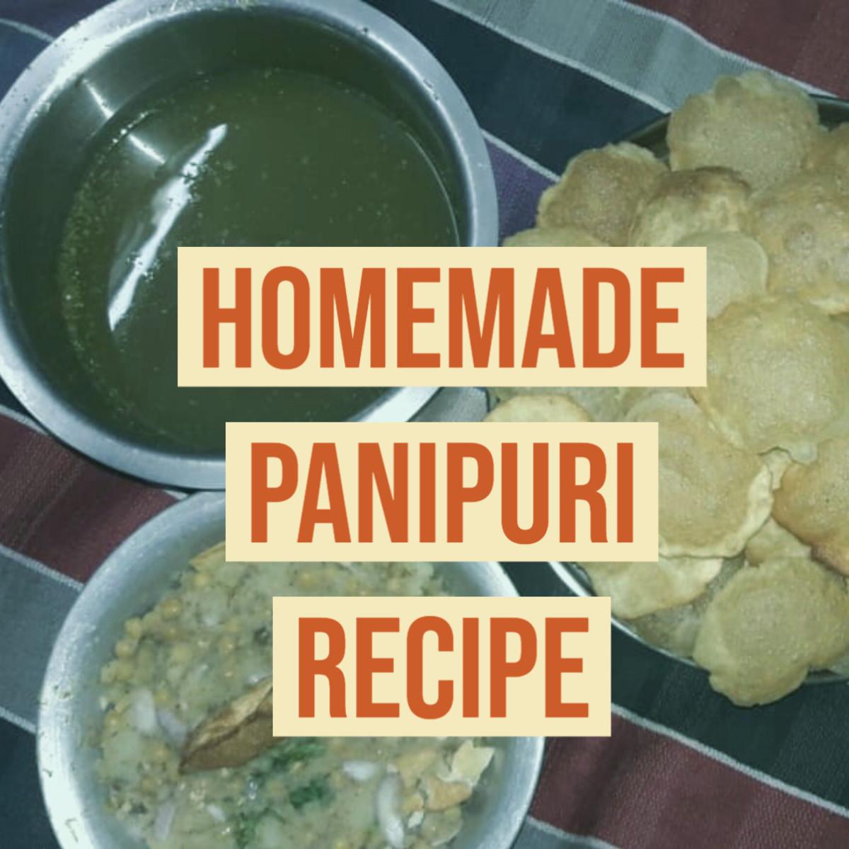 Homemade Pani Puri Recipe: Mouthwatering Indian Street Food