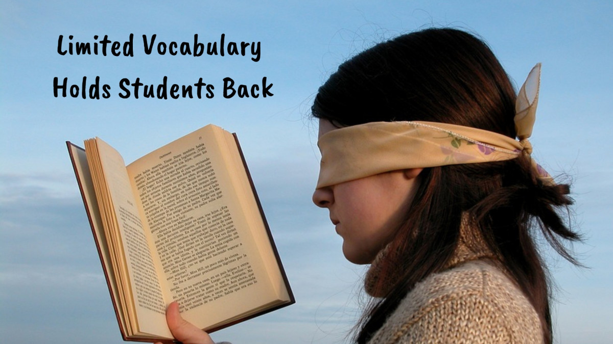 Lack of vocabulary hinders English language learners' reading fluency and comprehension.