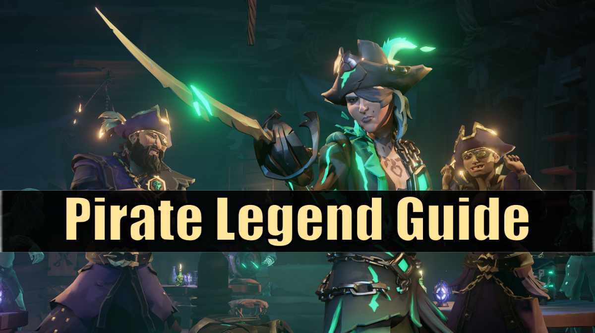 How to become a Pirate Legend in Sea of Thieves and unlock Athena's Fortune