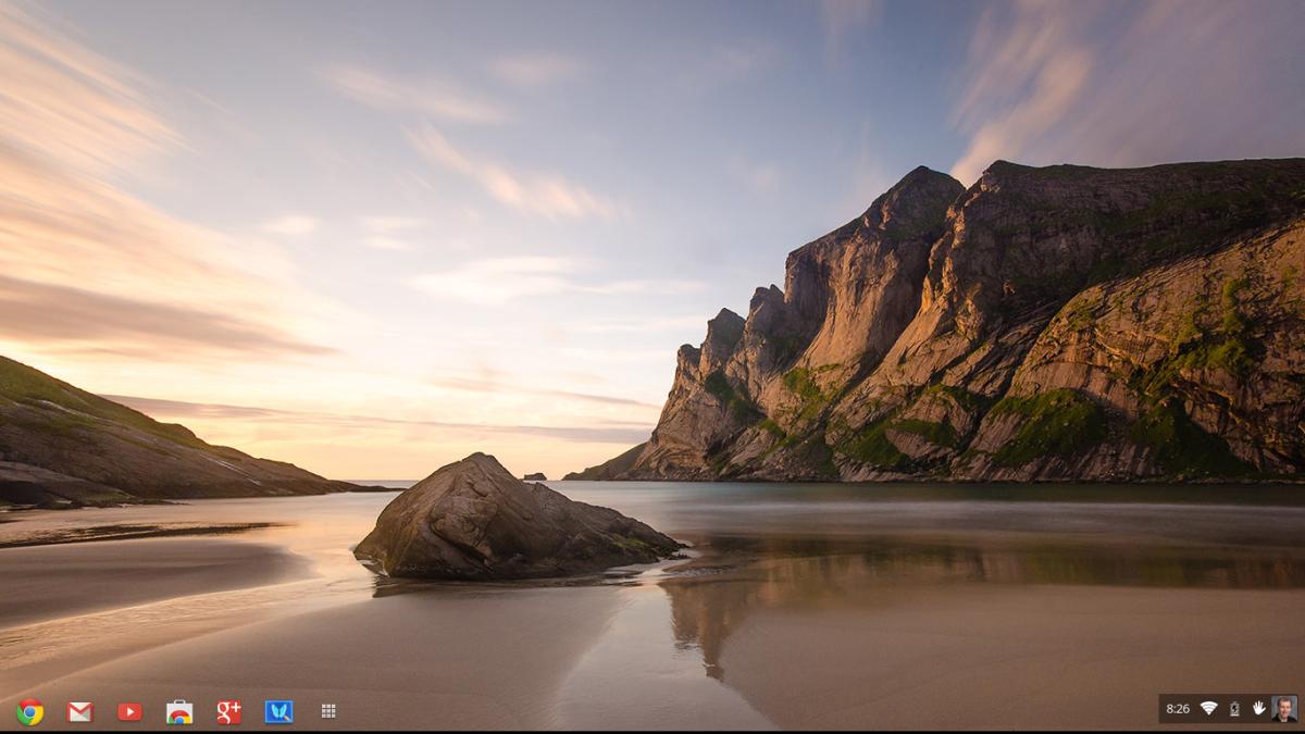 The Chromebook Desktop