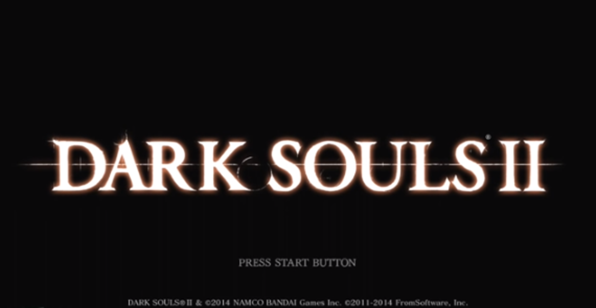 """Dark Souls II"" owned by Namco Bandai. Images used for educational purposes only."
