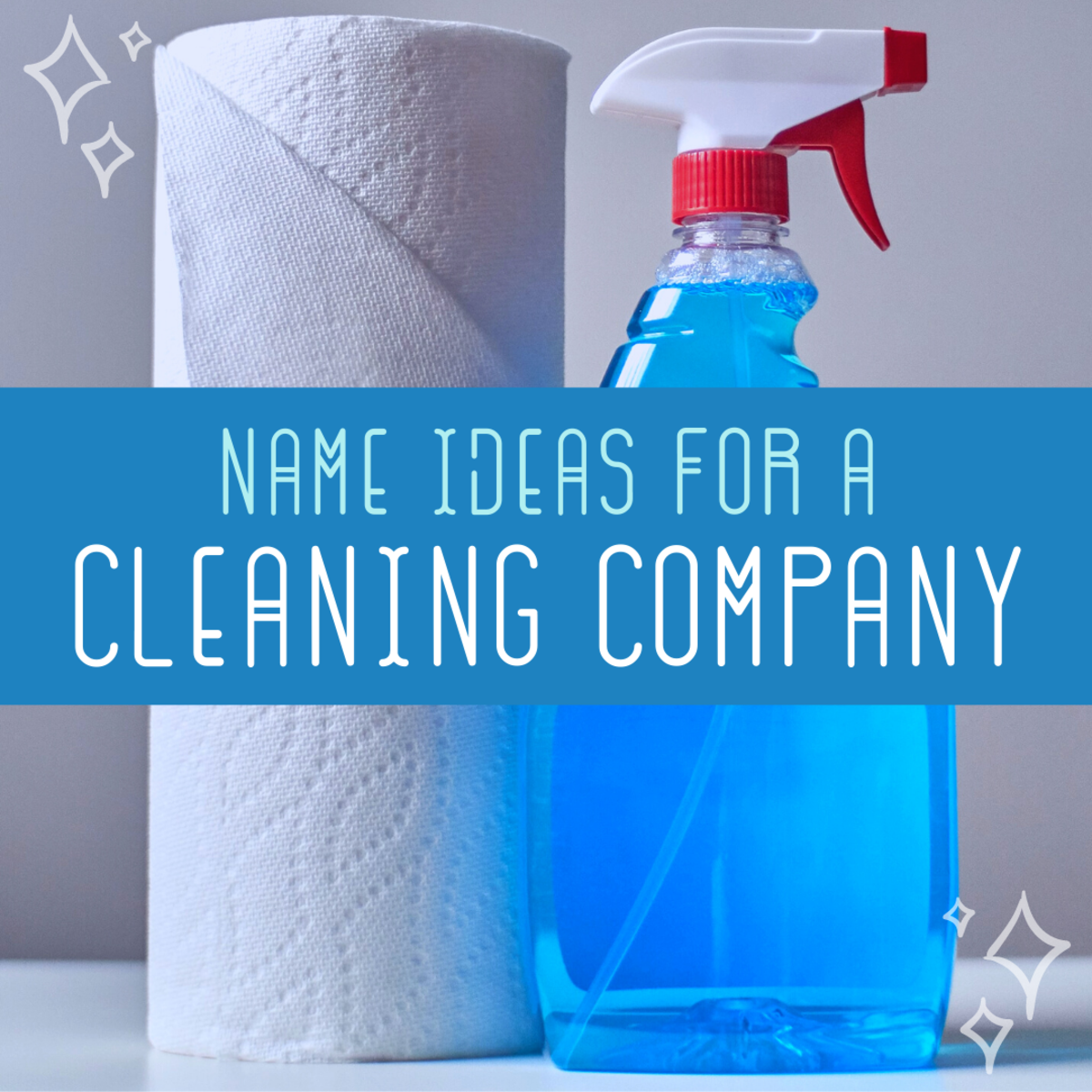 Check out this list of catchy, squeaky-clean names for your new cleaning service.