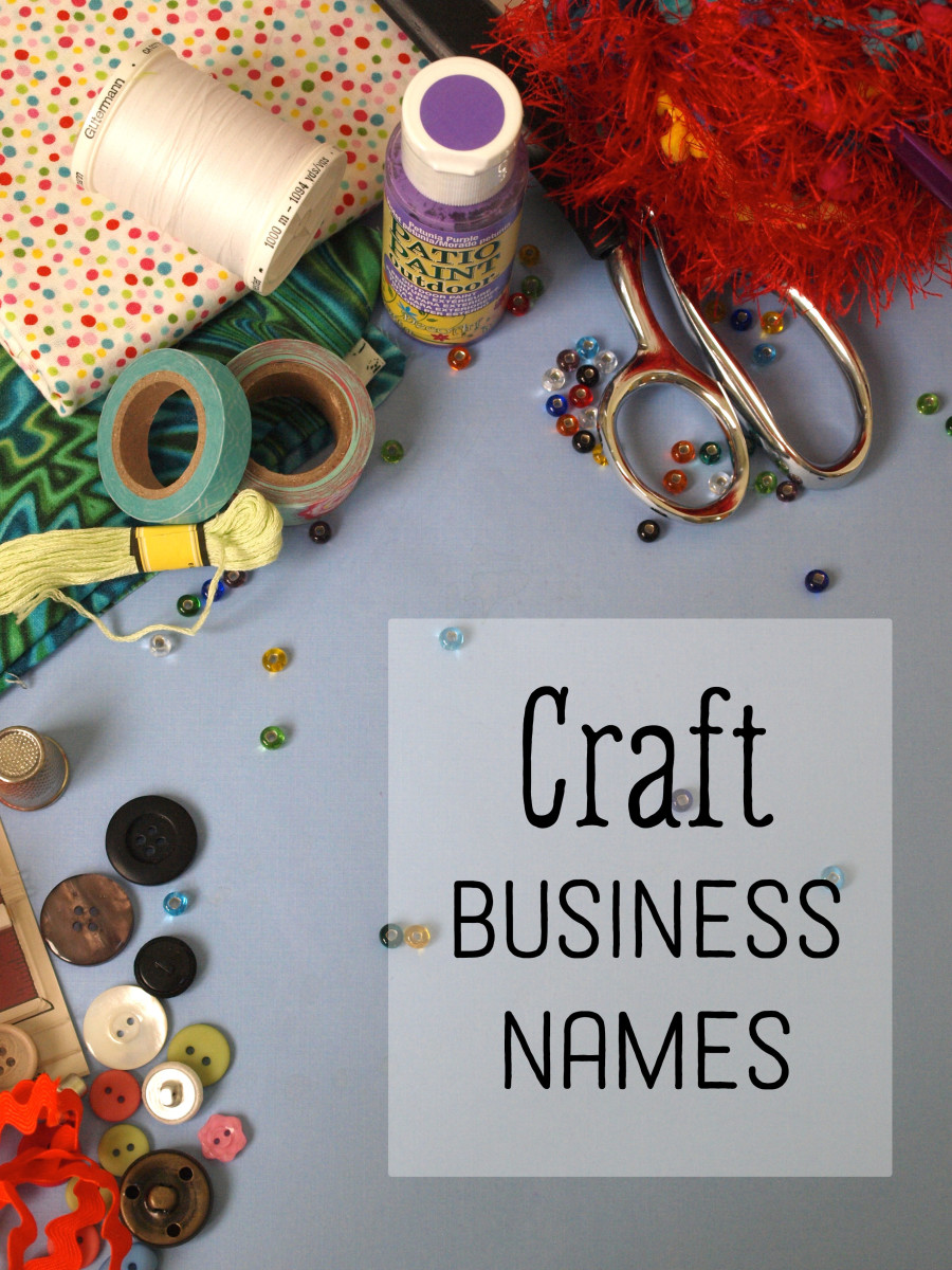 Find a great name for your craft business.