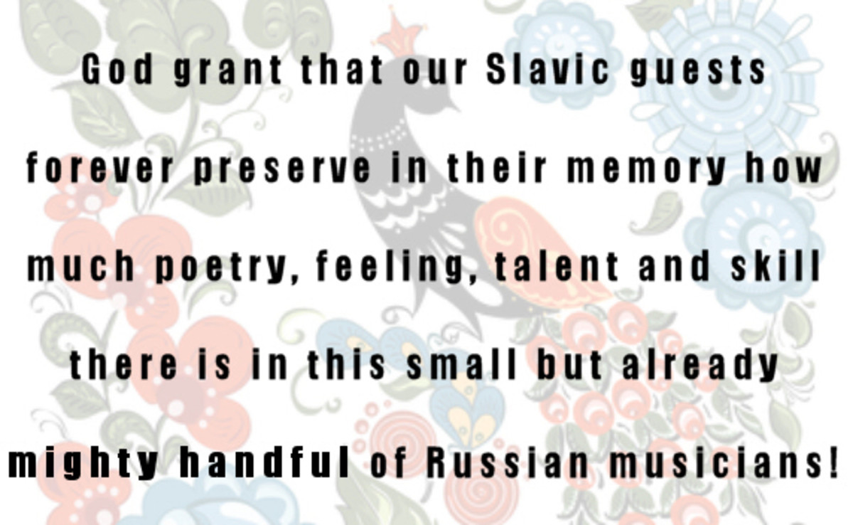 The Mighty Handful of Russian Musicians