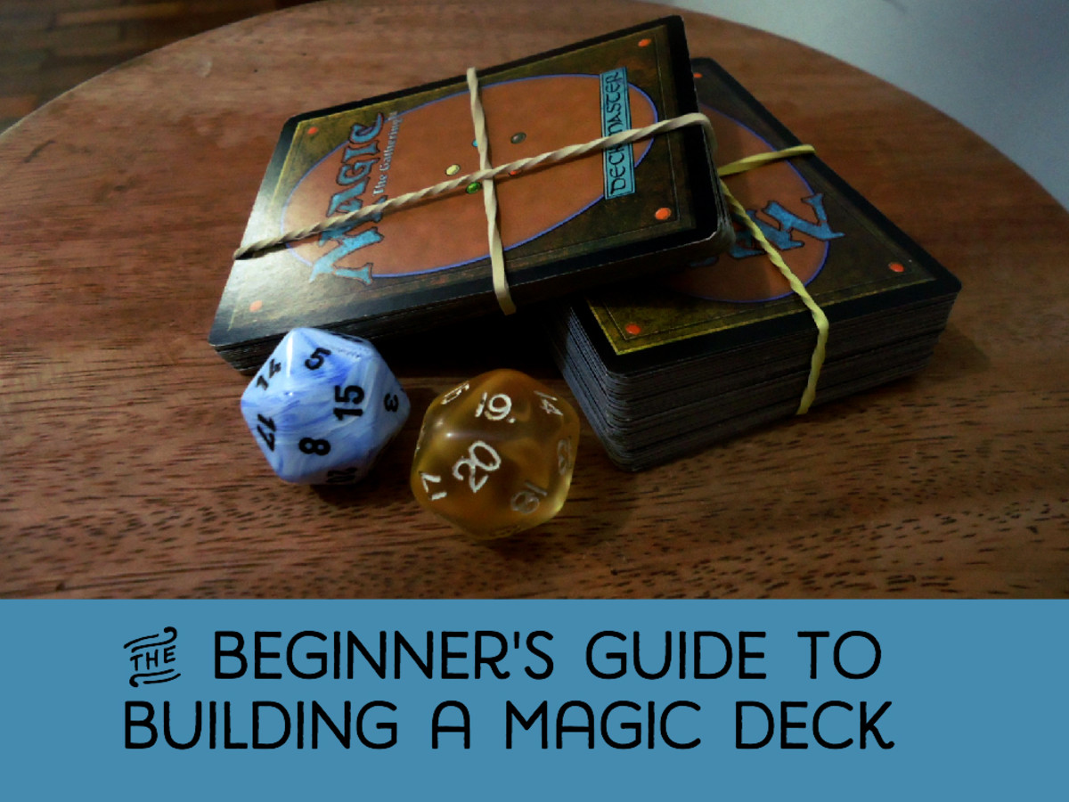 Building A Magic Deck From Scratch