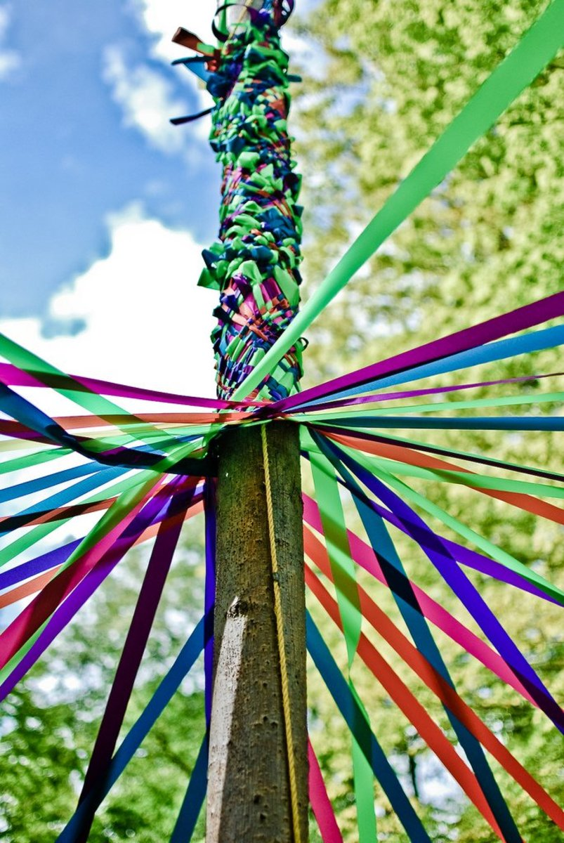 Maypoles are a great way to celebrate!