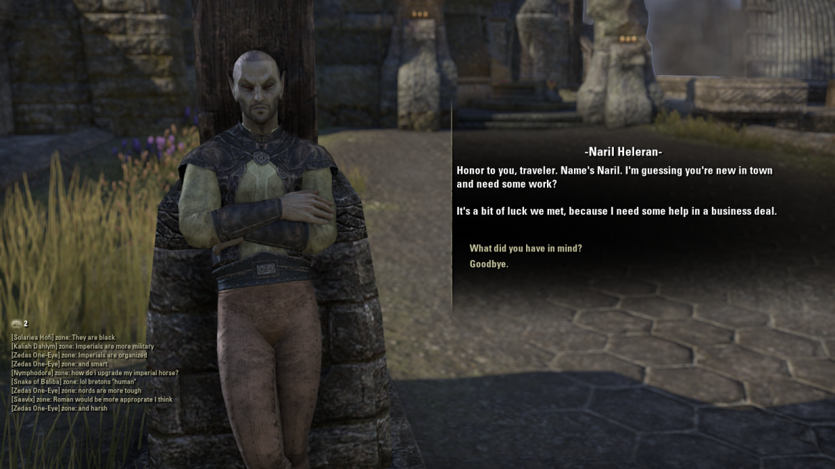 The Elder Scrolls Online Walkthrough - Davon's Watch: Exquisite Tears