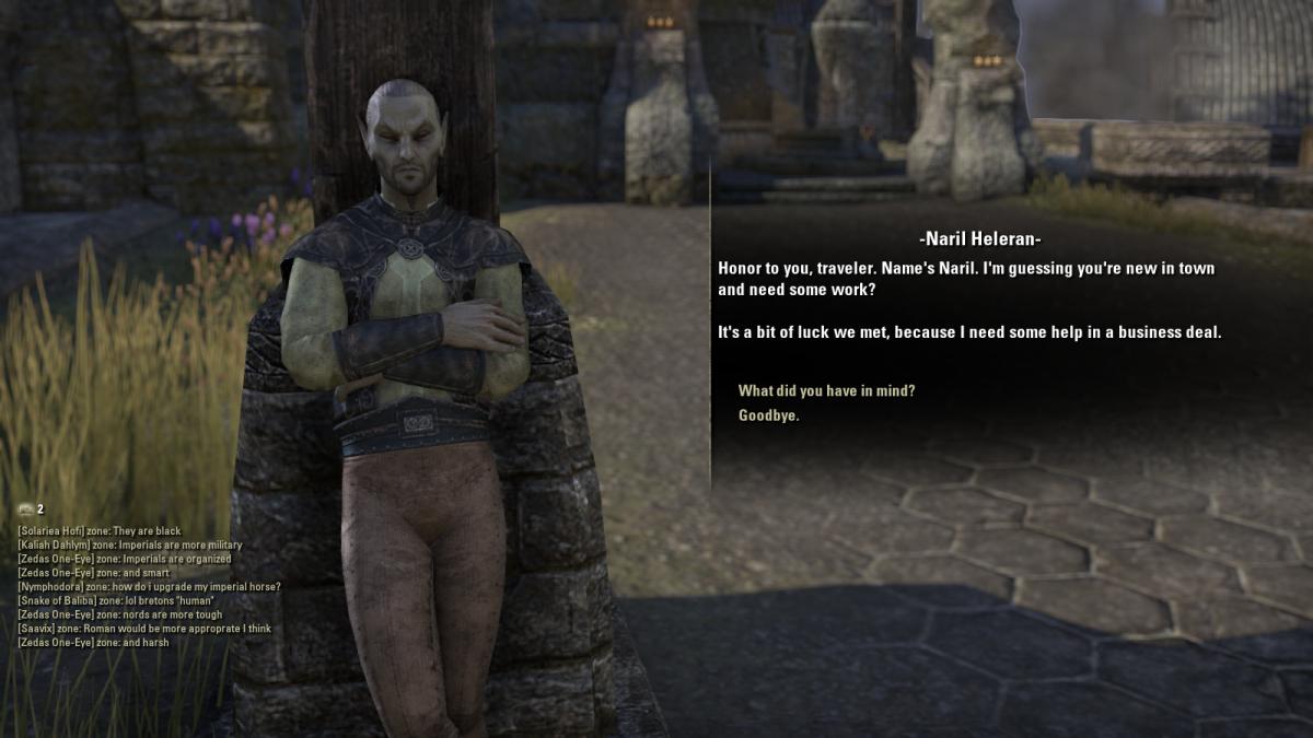 The Elder Scrolls Online Walkthrough - Davon's Watch: Exquisite Tears